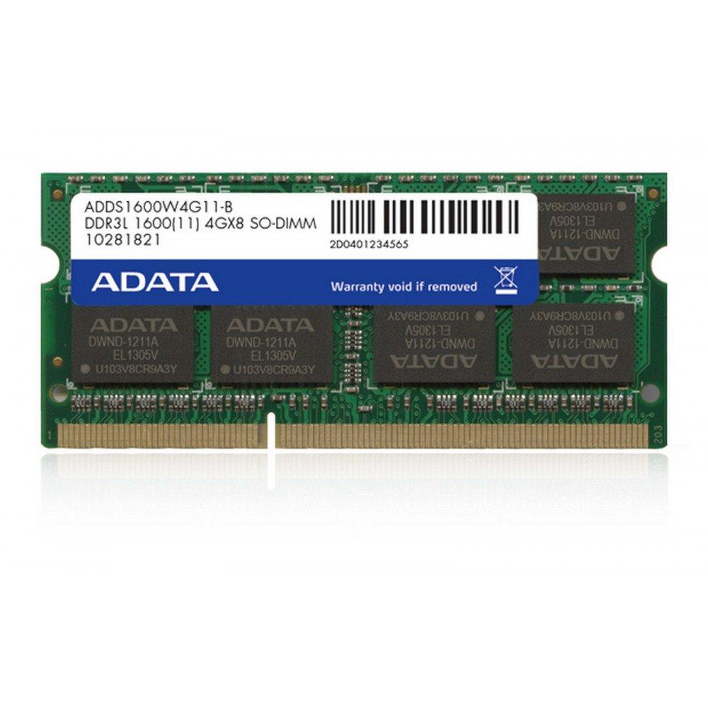 ADATA 4GB 204pin SODIMM DDR3L 1600, 1.35V