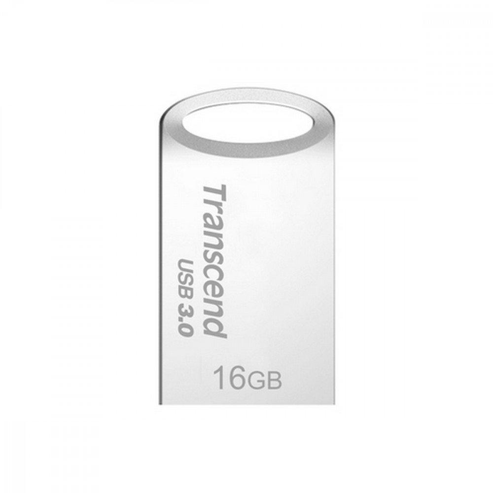 TRANSCEND 16GB JetFlash 710 USB 3.0, Silver Plating