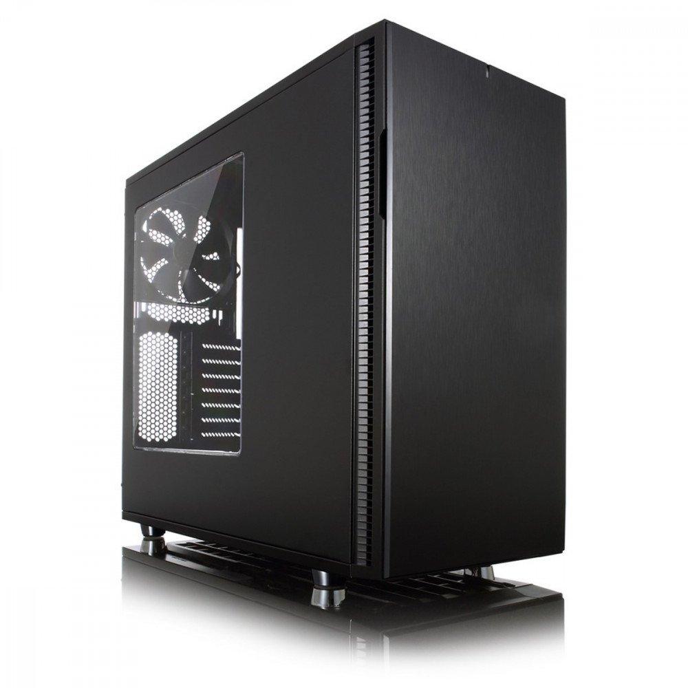 FRACTAL DESIGN Define R5 Blackout Edition Window, w/o PSU