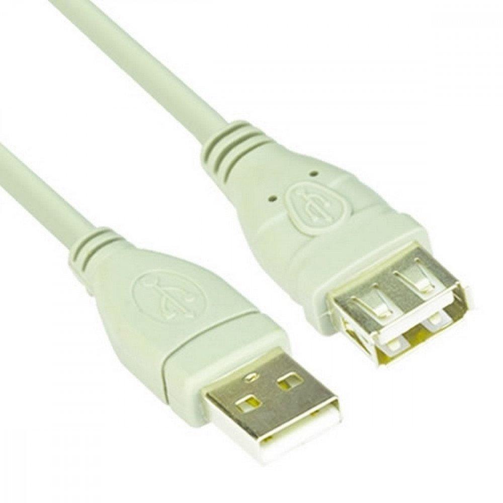 VCOM Кабел USB 2.0 AM / AF - CU202-5m