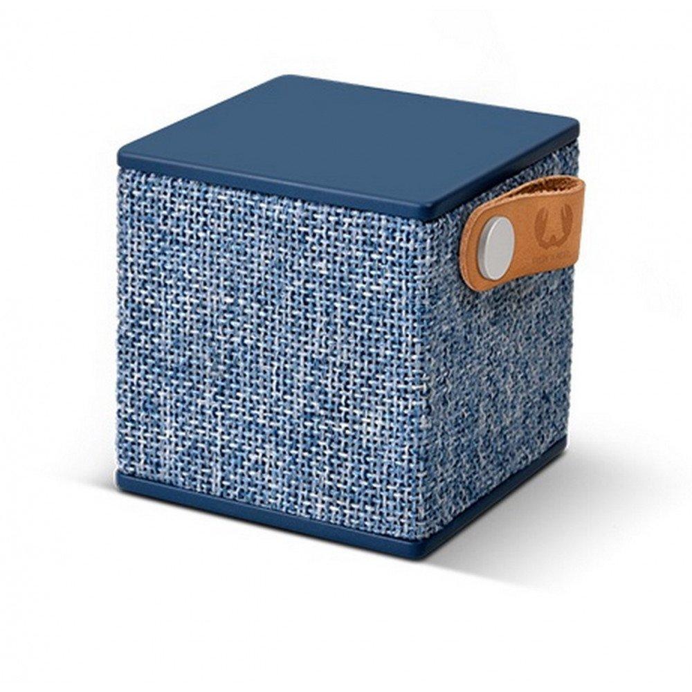 FRESH 'N REBEL Rockbox Cube Fabriq Edition Indigo Bluetooth Speaker