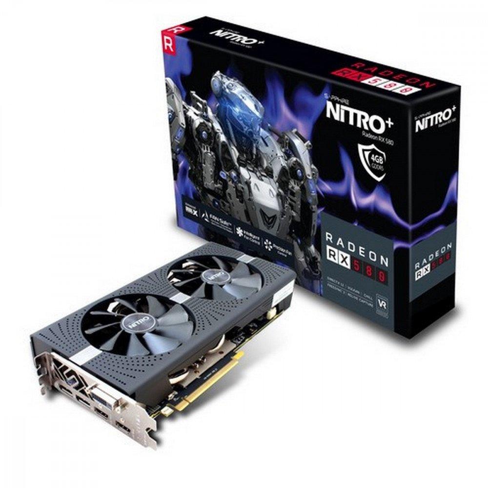SAPPHIRE 4096M NITRO+ RX 580 4GD5 PCI-E 3.0