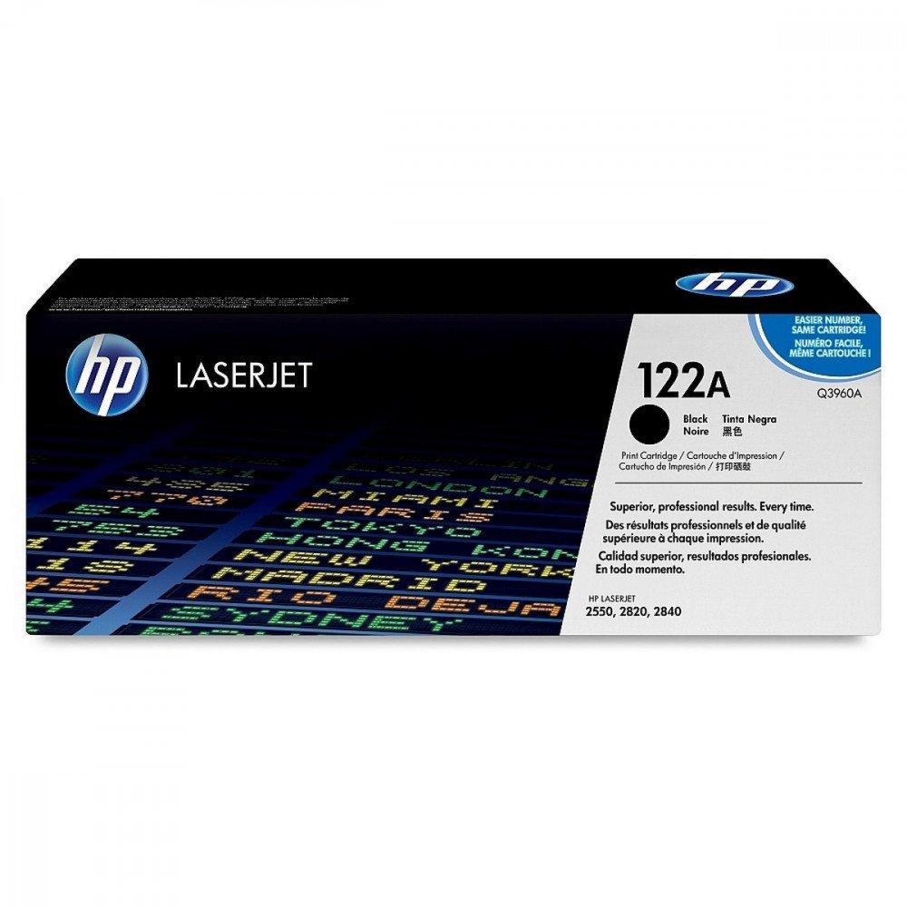HP HP 122A Black LaserJet Toner Cartridge
