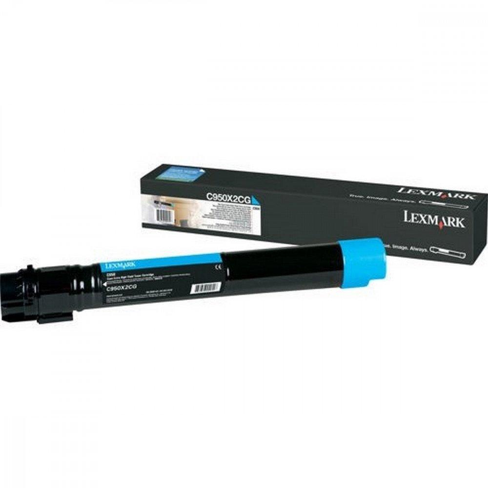 LEXMARK Lexmark C950 Cyan Toner Cartridge Extra High Regular