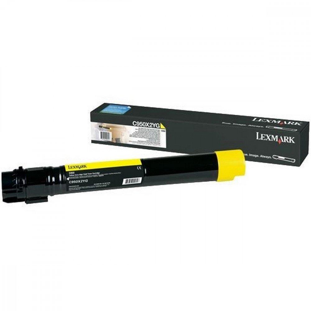LEXMARK Lexmark C950 Yellow Toner Cartridge Extra High Regular