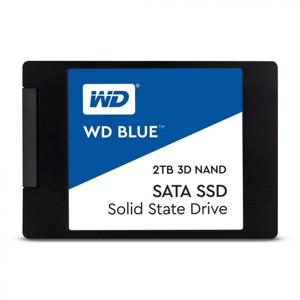 WD 2TB 3D NAND SATA III SSD Blue, 2.5