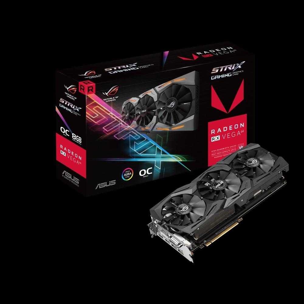 ASUS ROG-STRIX-RXVEGA64-O8G-GAMING PCI-E