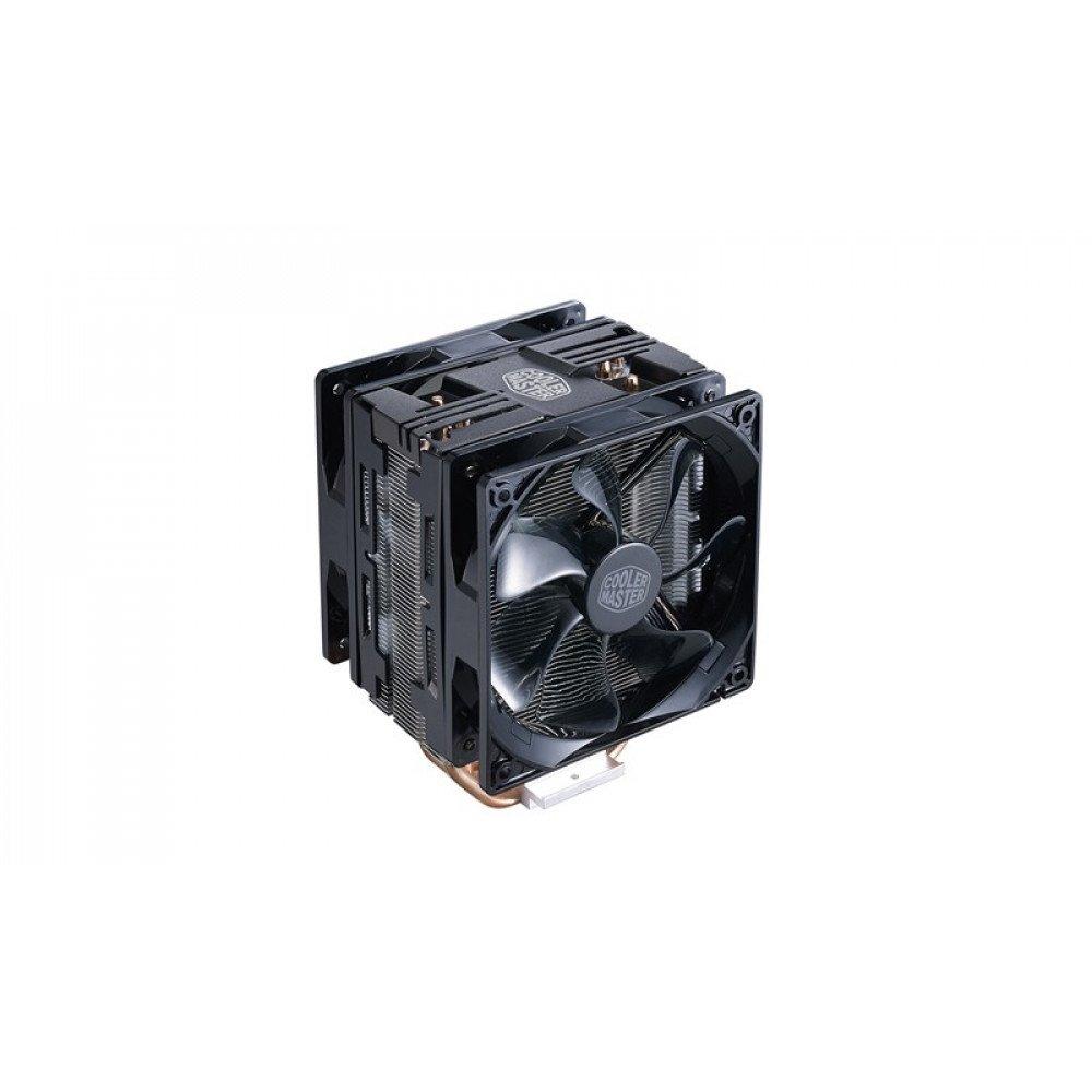 COOLER MASTER Hyper 212 LED Turbo, Black Top, AMD/INTEL