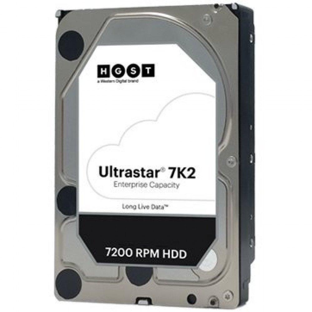 HITACHI 2048MB Server HGST Ultrastar 7K2 (3.5  , 128MB, 7200 RPM, SATA 6Gb/s, 512N SE), HUS722T2TALA604