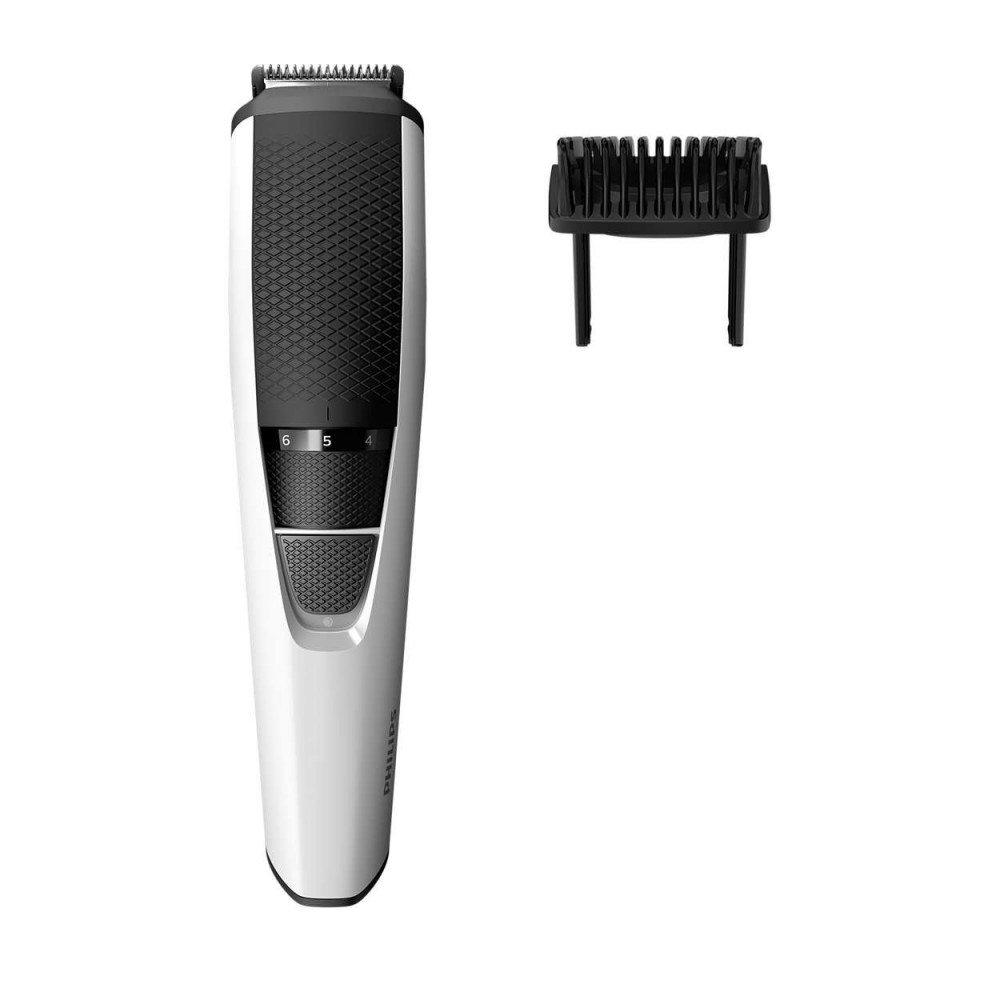 PHILIPS BT3206/14, Тример за брада Series 3000, 1 мм прецизни настройки, ножчета от неръждаема стомана, 45 мин. безжична работа/10 ч. зареждане, Система Lift & Trim