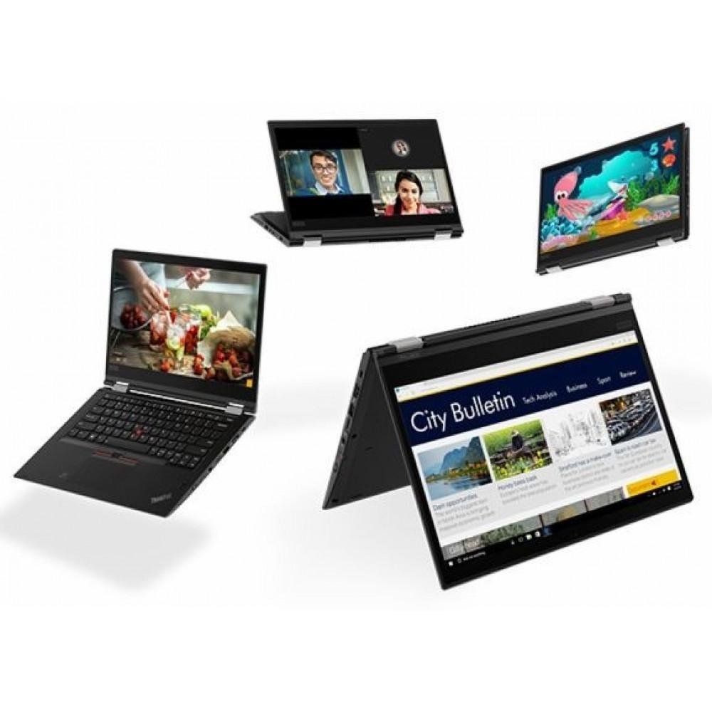 LENOVO ThinkPad X380 Yoga /20LH001GBM/, Intel Core i7-8550U (1.8GHz up to 4.0GHz, 8MB), 8GB DDR4 2400MHz, 256GB SSD m.2 PCIe NVME, 13.3