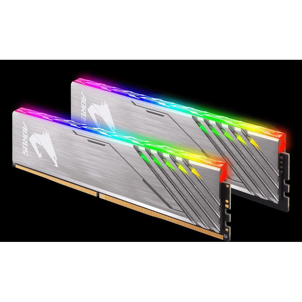 GIGABYTE 2 x 8GB 3200MHz AORUS RGB DDR4 CL16-18-18-38 1.35v