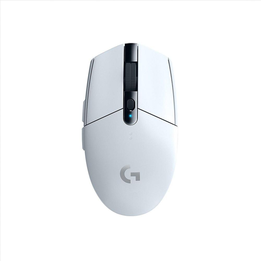 LOGITECH Геймърска мишка G305 Lightspeed Wireless Бял