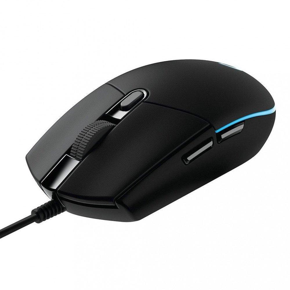 LOGITECH Геймърска мишка G203, Оптична, Жична, USB
