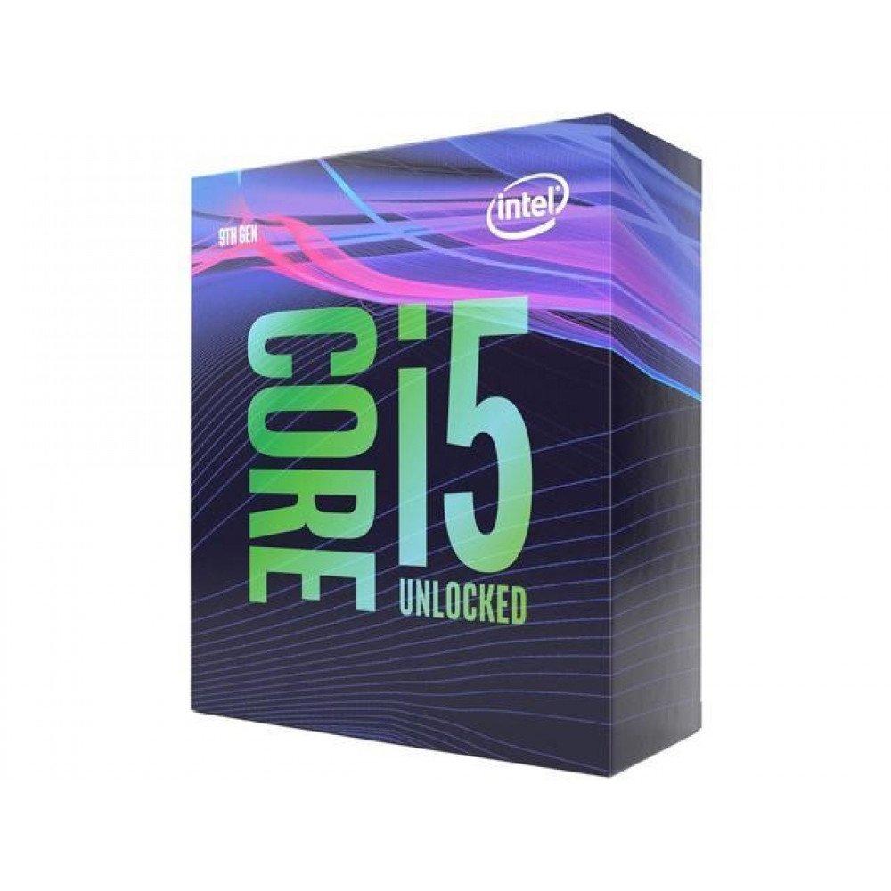 INTEL CORE i5-9600K, up to 4.60GHz, 9MB, BOX, (no FAN) LGA1151, Coffee Lake