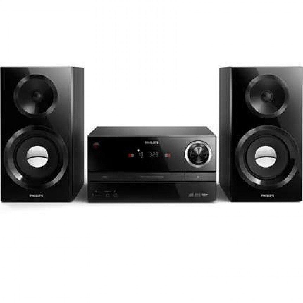PHILIPS MCM3350, микро музикална CD система 130W, CD, MP3-CD, USB, FM