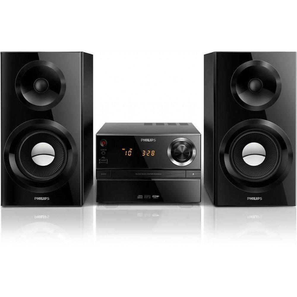 PHILIPS MCM2350, Микро музикална система, CD, MP3-CD, USB, FM 70 W