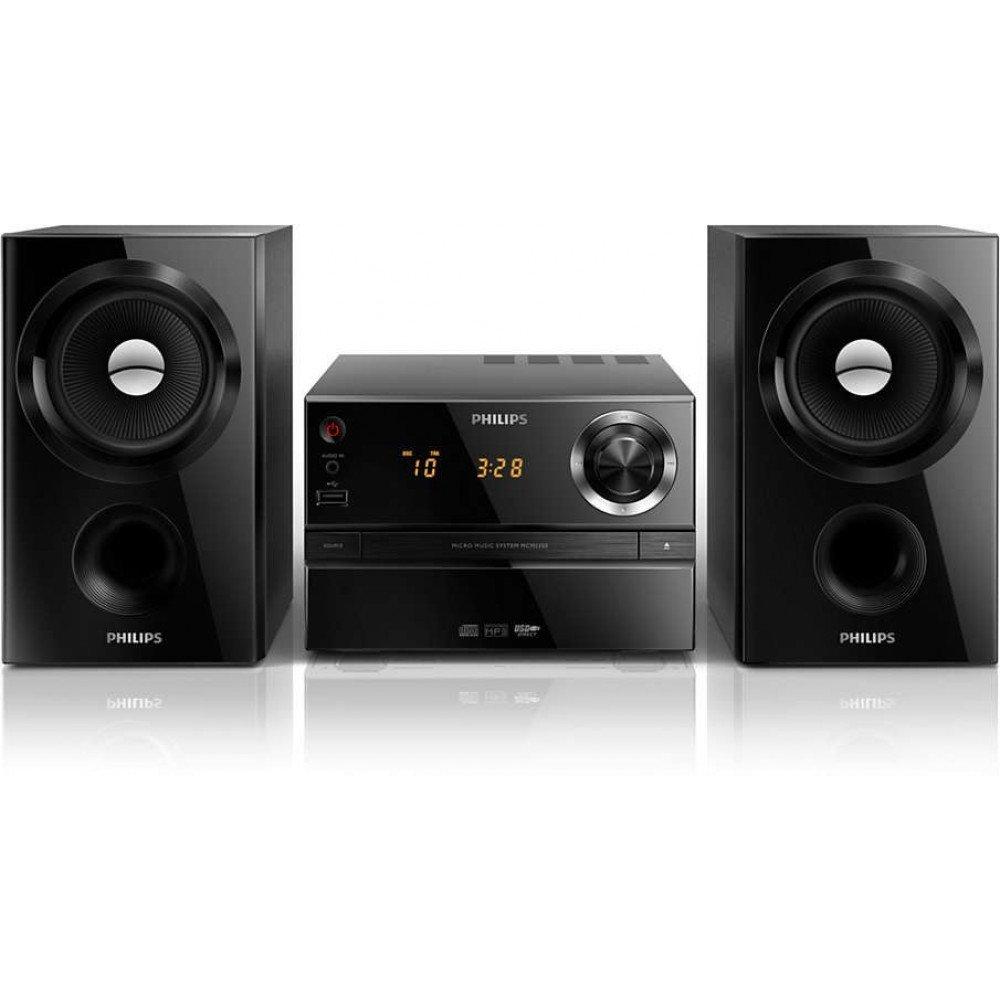 PHILIPS MCM1350, музикална микросистема, RMS: 30 W, CD, MP3-CD, USB, FM