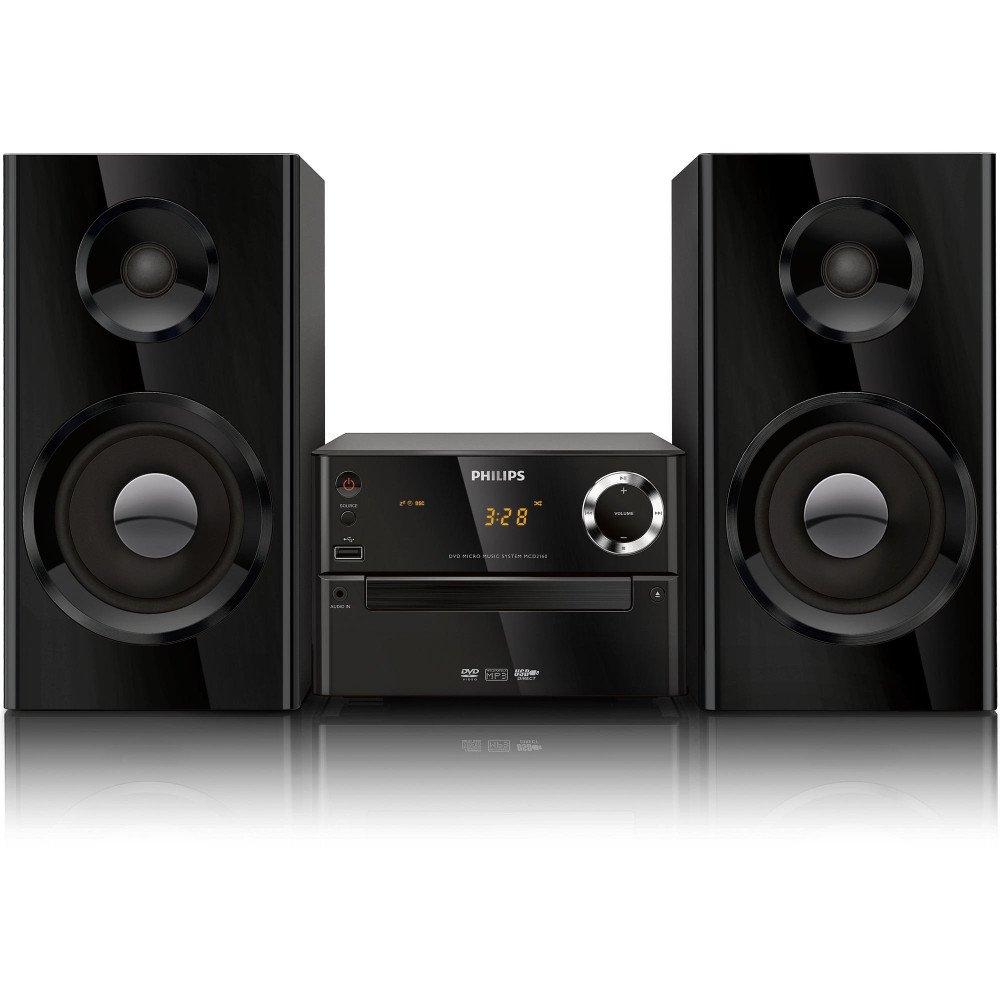 PHILIPS MCD2160, DVD микросистема за домашно кино, Digital Sound Control, Dolby Digital, 70W (RMS)