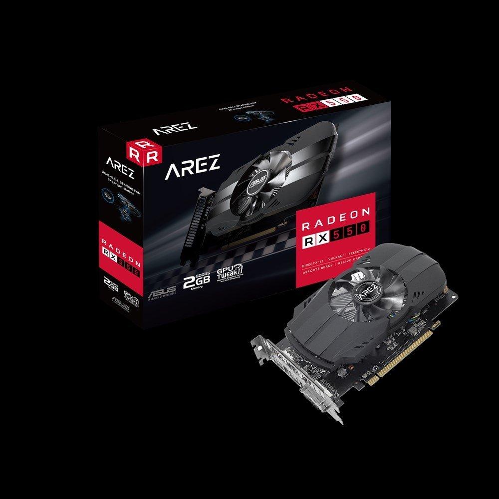 ASUS 2048M RX550, AREZ-PH-RX550-2G PCI-E