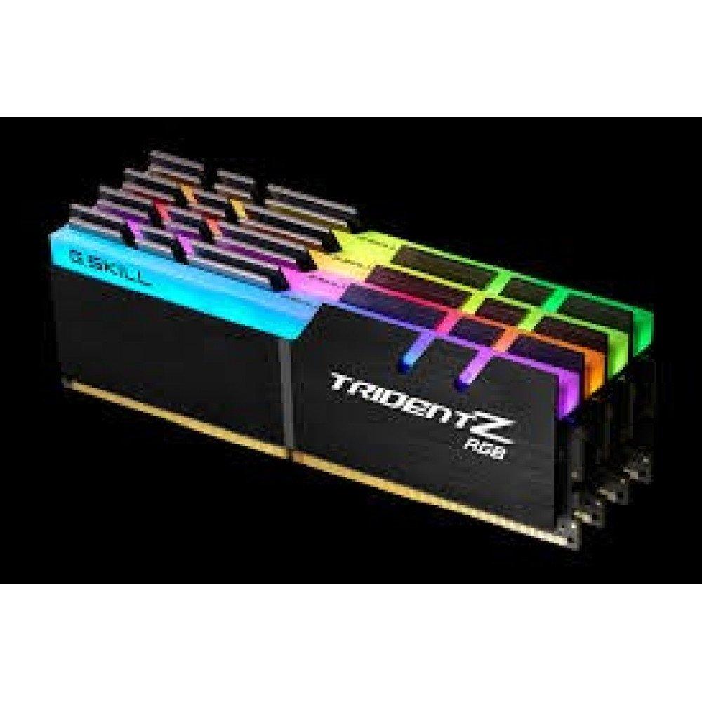G.SKILL 4х 8GB 3200 MHz PC4-25600 CL16 Dual Channel Memory Kit - Black with full length RGB LED light