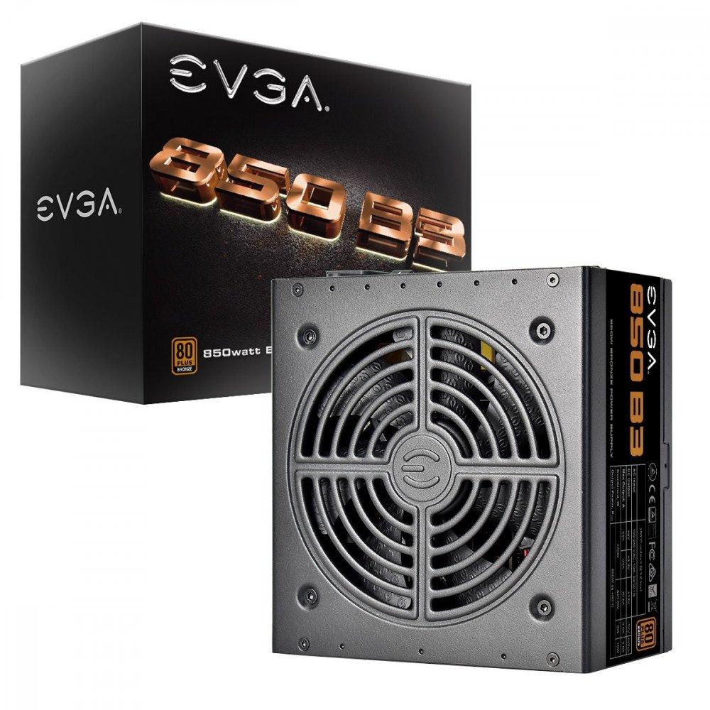 EVGA 850W, 850 B3 80+ BRONZE, Fully Modular