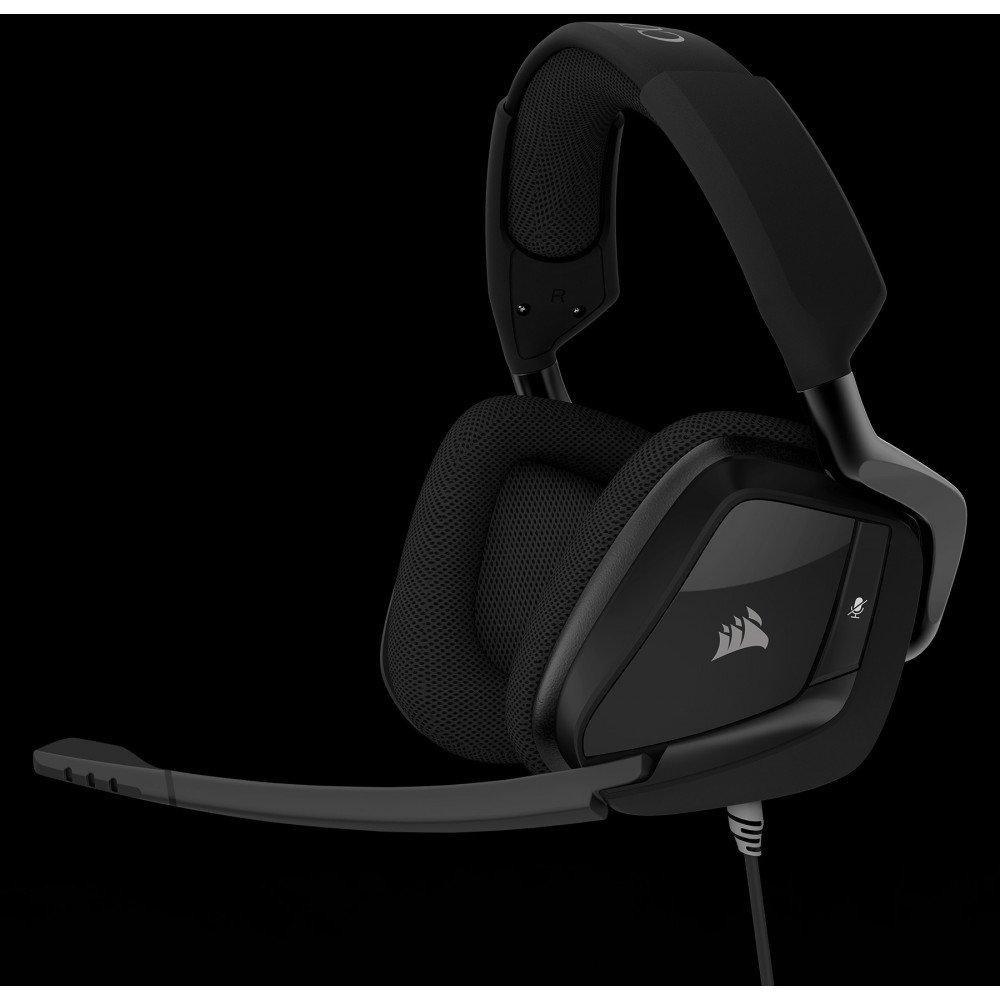 CORSAIR GamingT VOID PRO Surround Premium Gaming Headset with DolbyR Headphone 7.1, Carbon Black (EU Version)