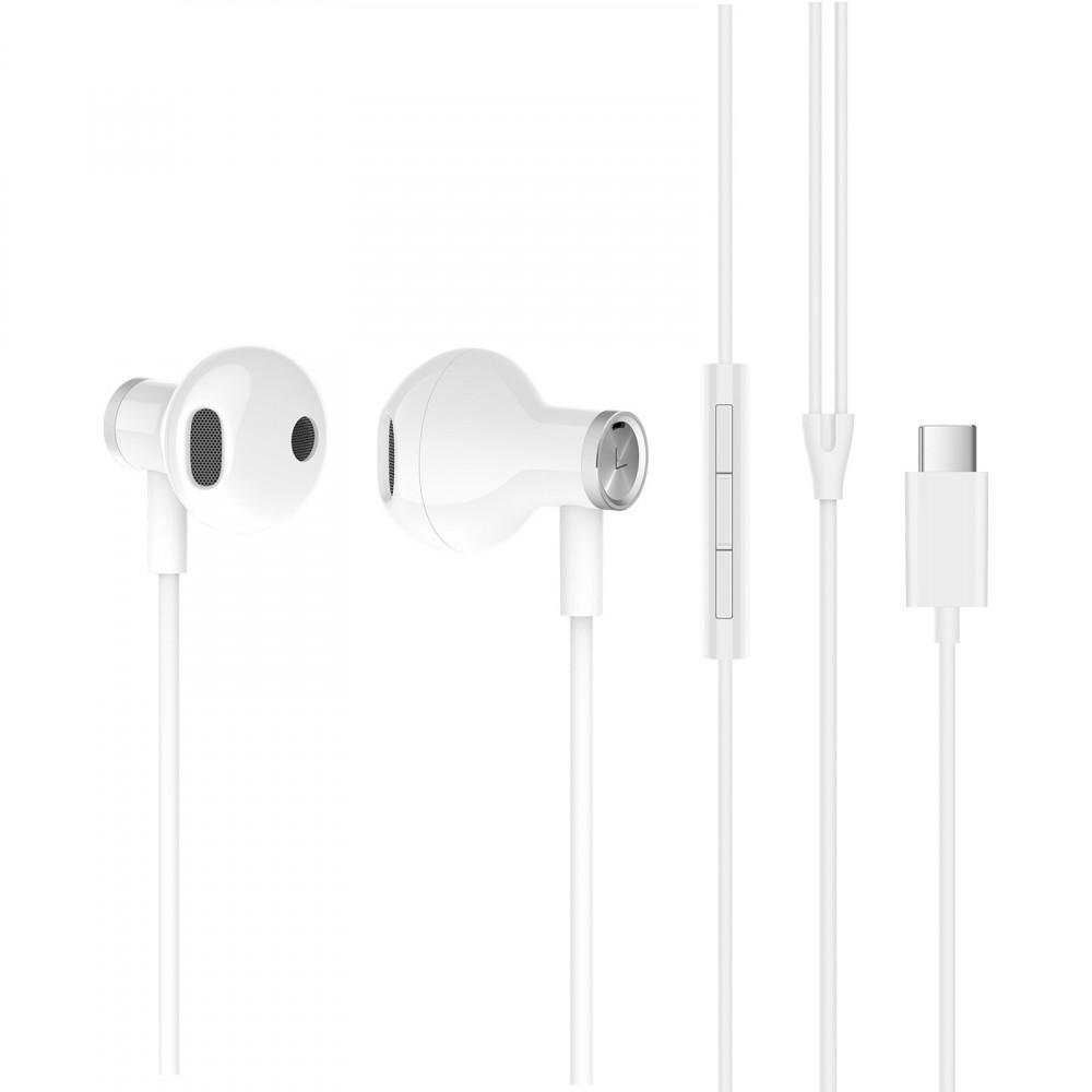 XIAOMI Слушалки Mi Dual Driver Earphones (Type-C) (White)