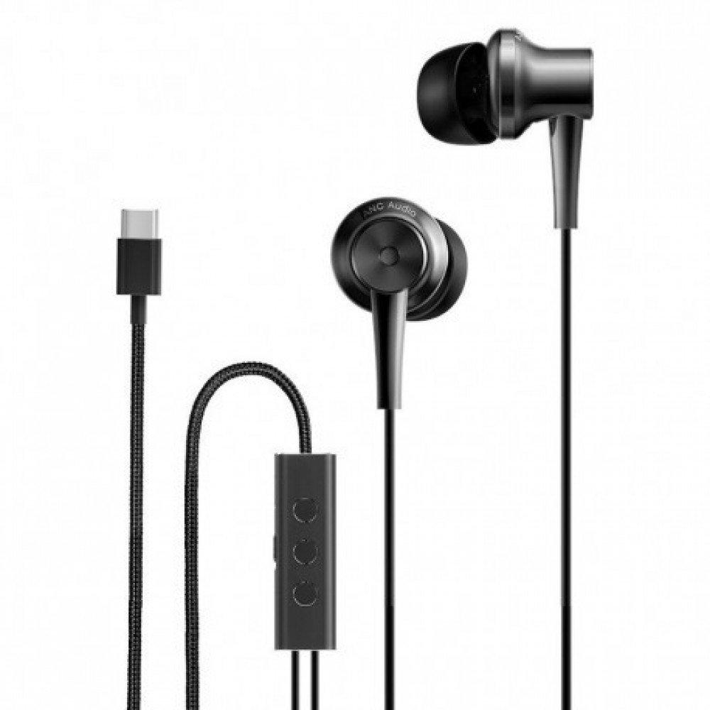 XIAOMI Слушалки Mi Noise Cancelling Earphones (Type-C) (Black )