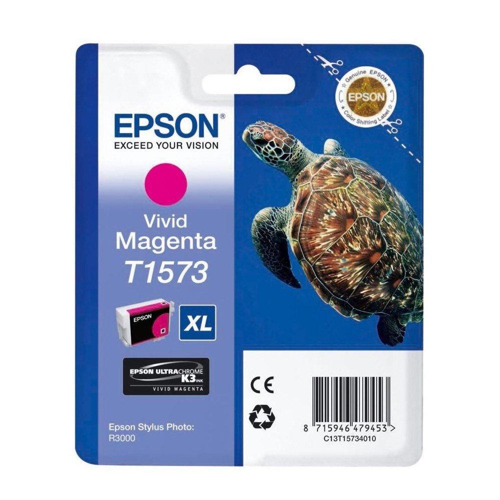 EPSON Epson T1573 Vivid Magenta for Epson Stylus Photo R3000, C13T15734010