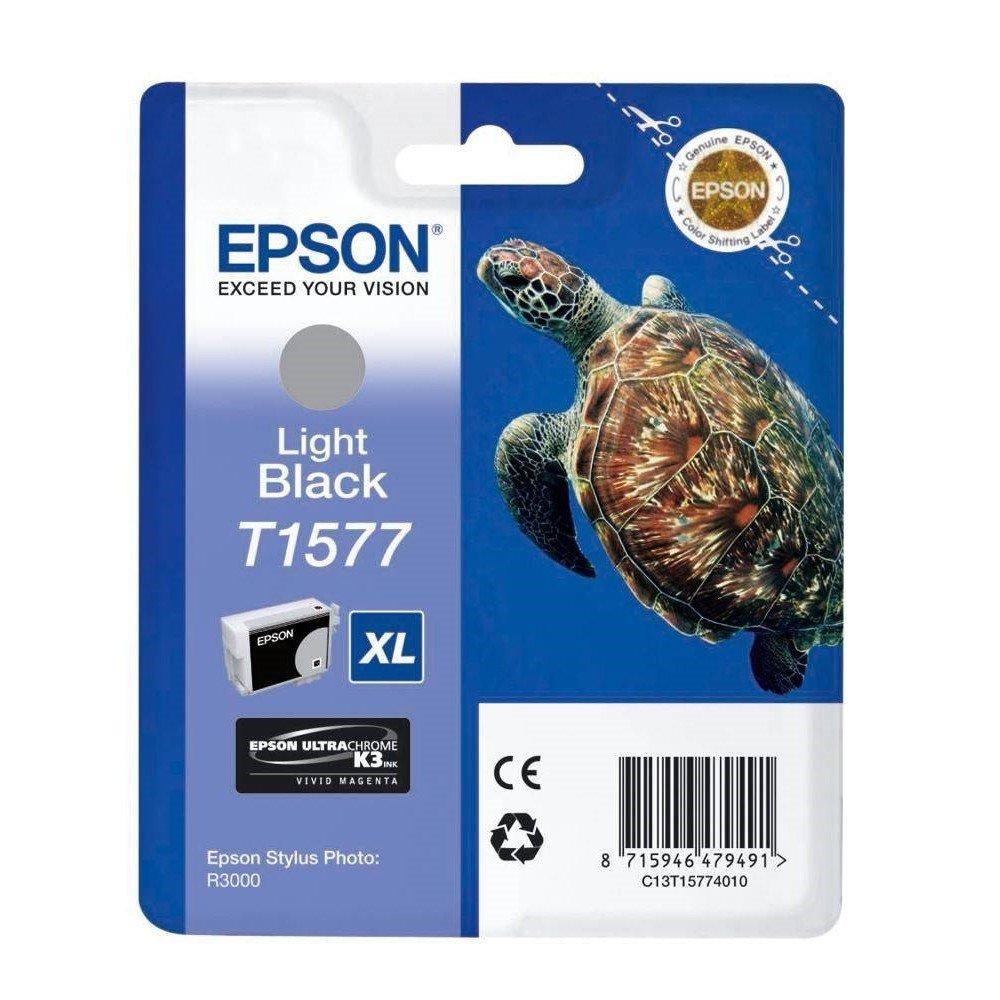 EPSON Epson T1577 Light Black for Epson Stylus Photo R3000, C13T15774010