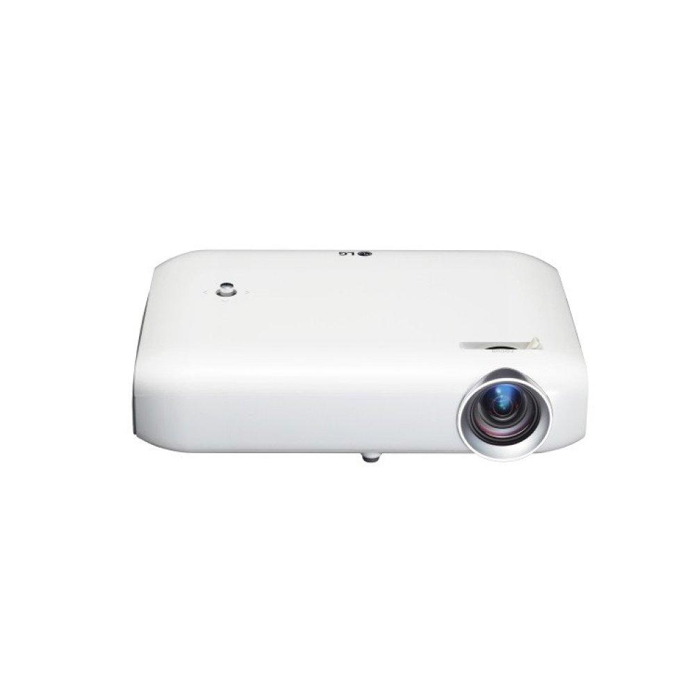 LG PW1000G Projector , RGB LED, WXGA (1280x800), 100000:1, 1000 ANSI Lumens, HDMI, USB(a), WiDi, Miracast, MHL, BT, Speakers, 3D Optimizer, White