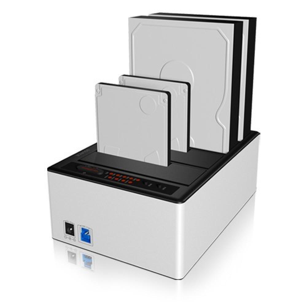 RAIDSONIC IB-141CL-U3 :: Докинг станция за 4 диска, 2.5