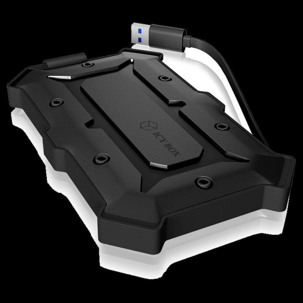 RAIDSONIC IB-276U3 :: Прахо и водоустойчива IP66, USB 3.0 външна кутия за 2.5