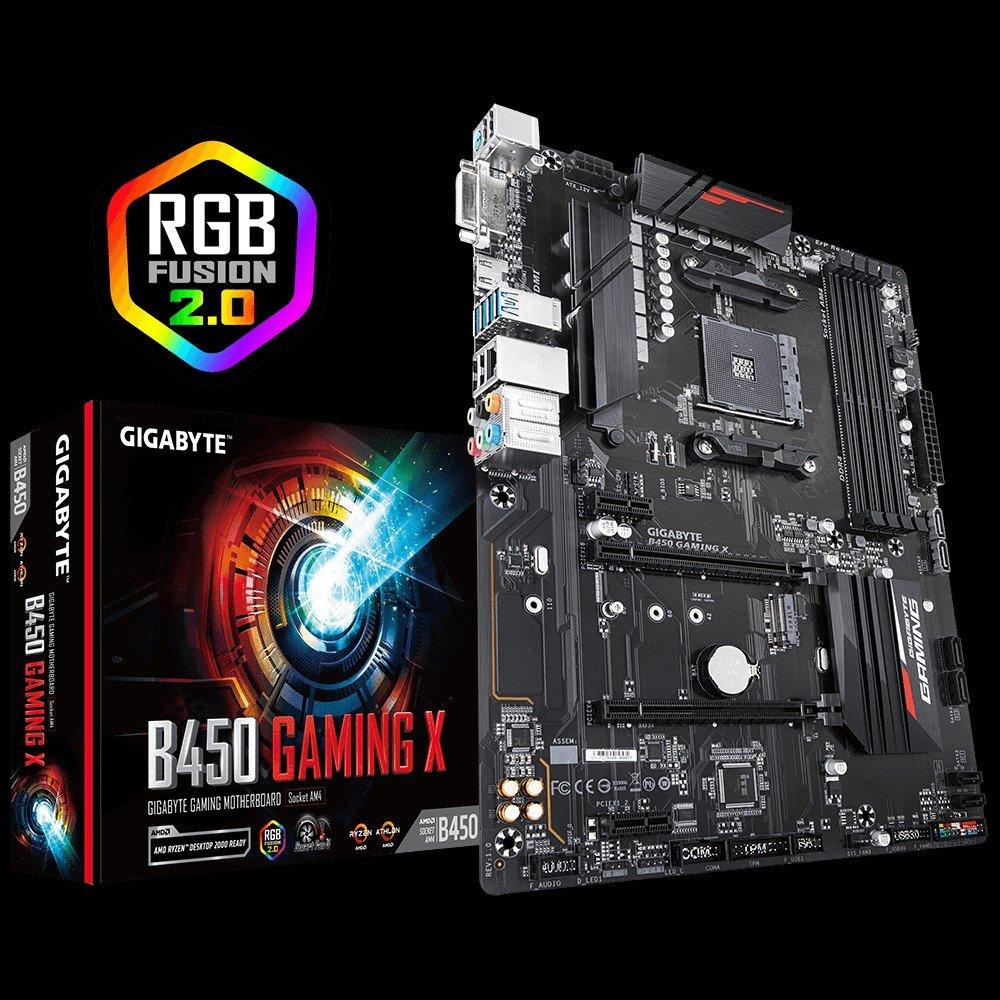 GIGABYTE-B450-Gaming-X-AMD-B450-DDR4-2933266624002133-MHz-DVI-HDMI