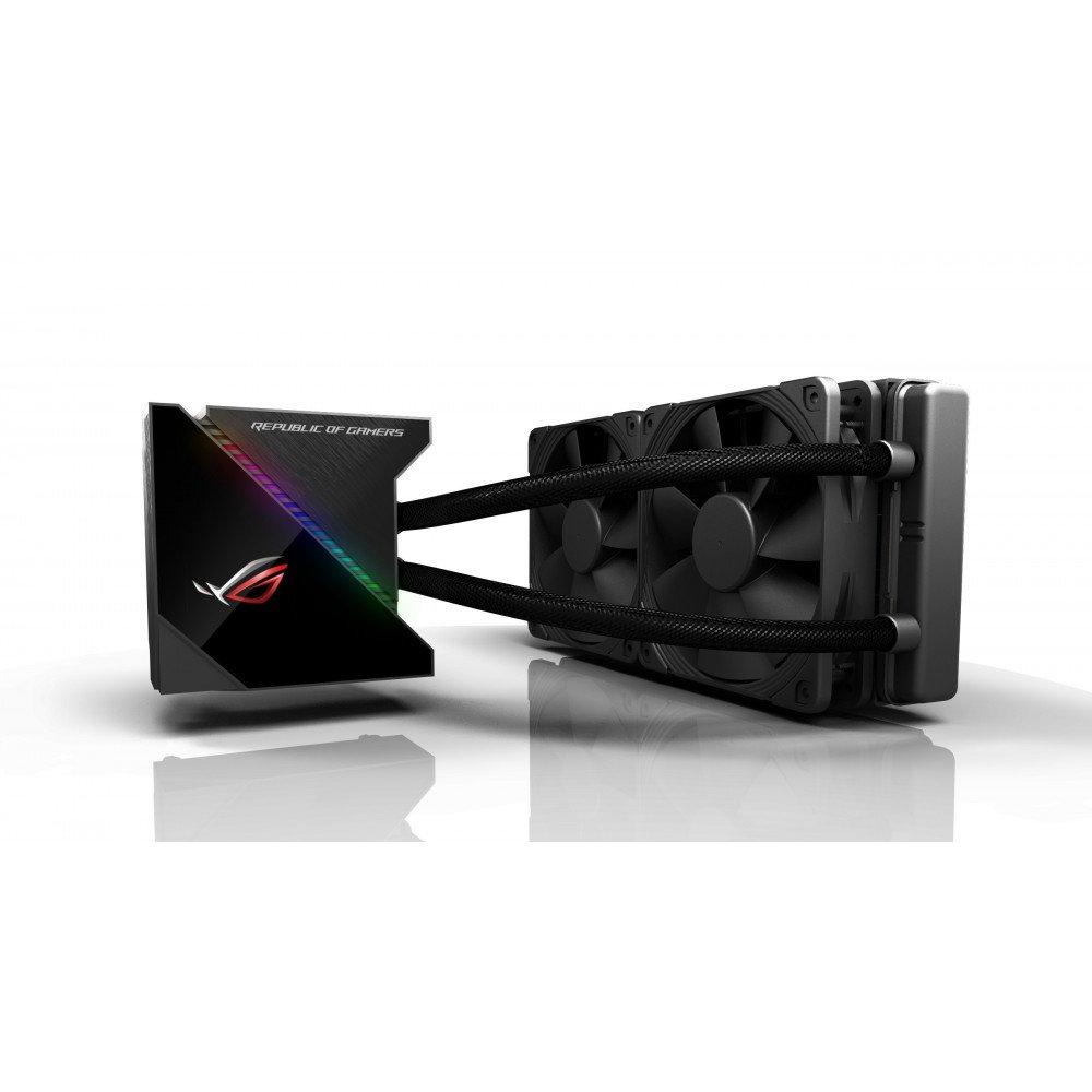 ASUS Охладител за процесор ROG RYUJIN 240 Aura Sync, OLED LiveDash
