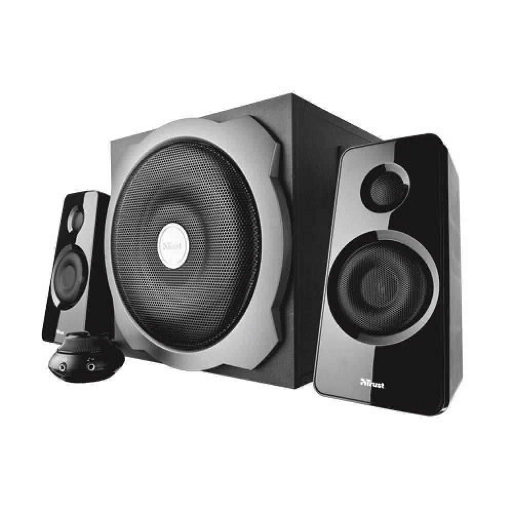 TRUST Tytan 2.1 Subwoofer Speaker Set - black, 19019