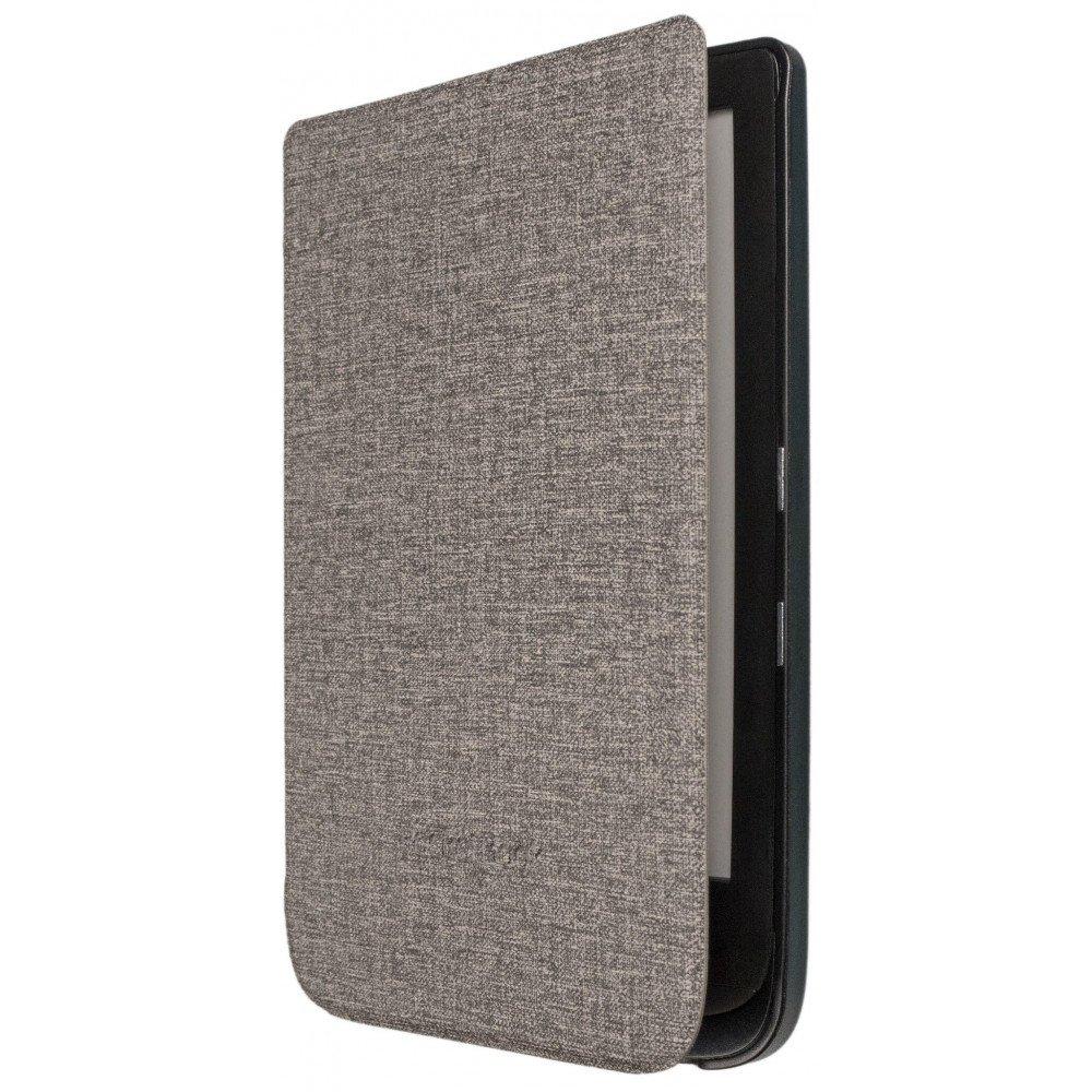 POCKETBOOK Калъф Shell Cover Grey, за eBook четец, 6 inch, сив