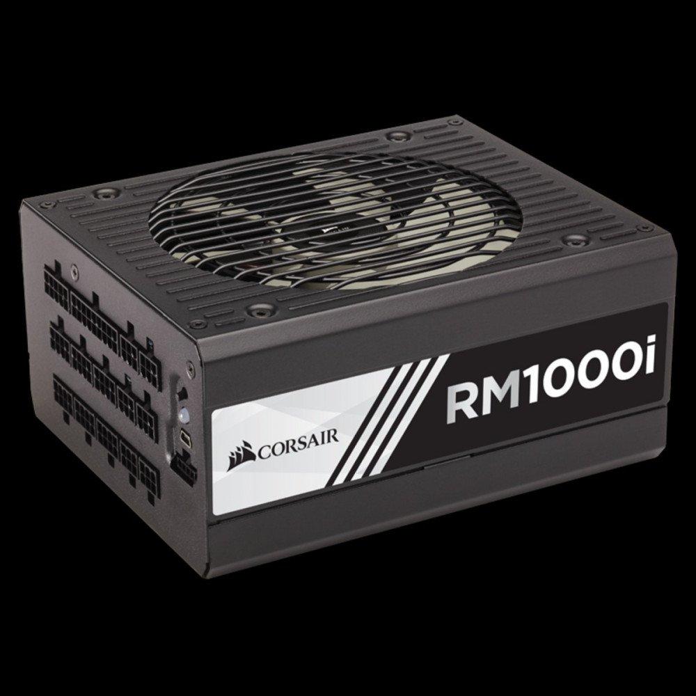 CORSAIR Захранване 1000W RMi Series RM1000i Power Supply, Fully Modular 80 Plus Gold, EU Version, CP-9020084-EU