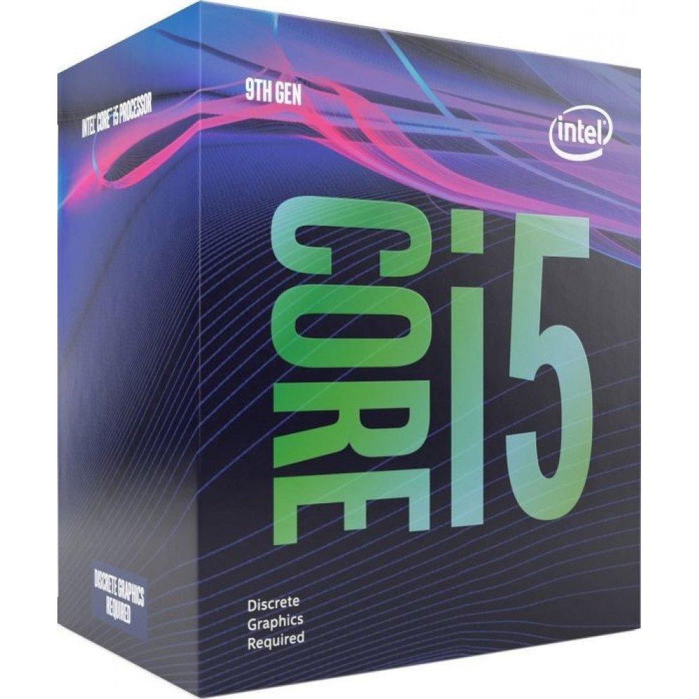 INTEL CORE i5-9500F, up to 4.40GHz, no Video, 9MB, BOX, LGA1151, Coffee Lake