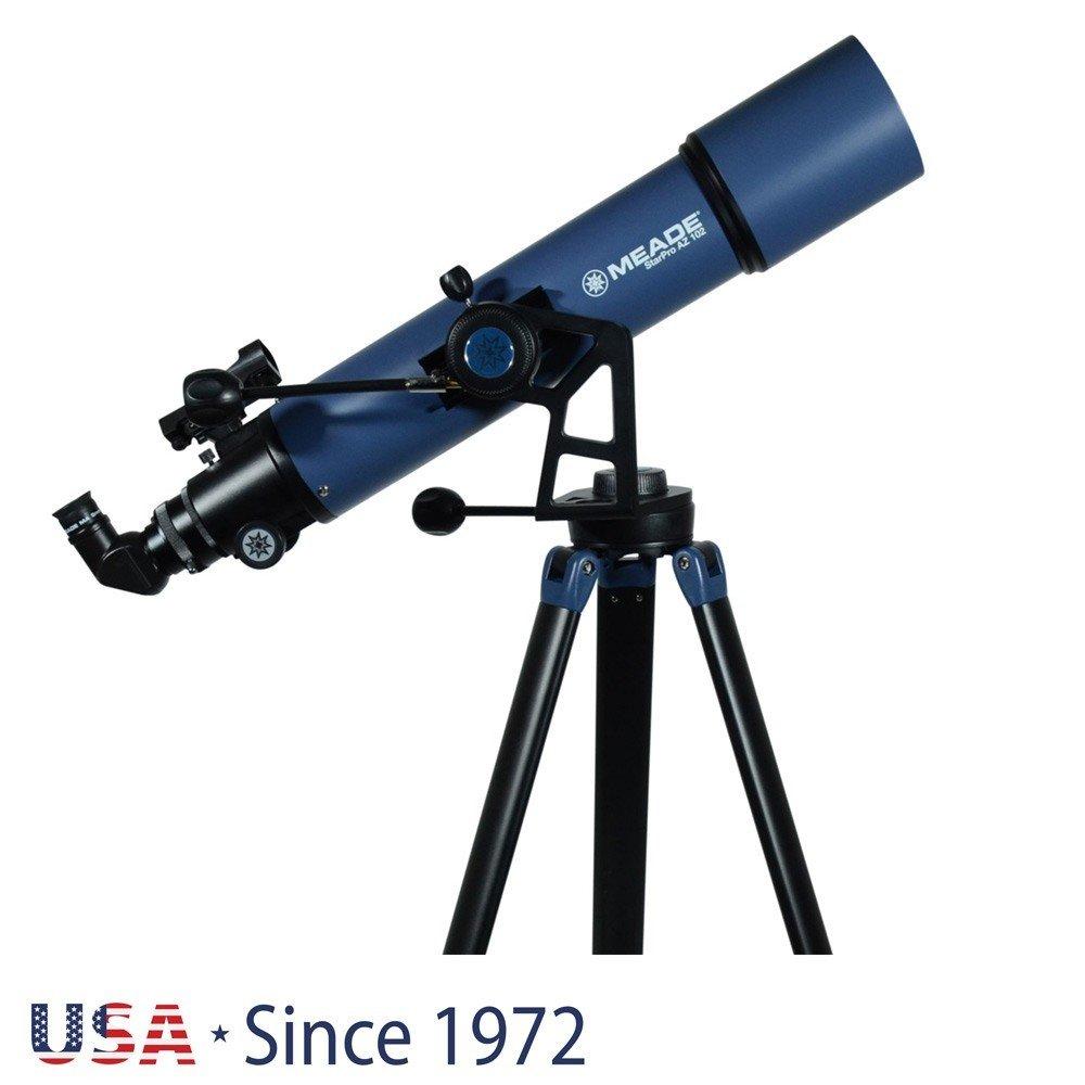 MEADE Рефракторен телескоп  StarPro AZ 102 mm
