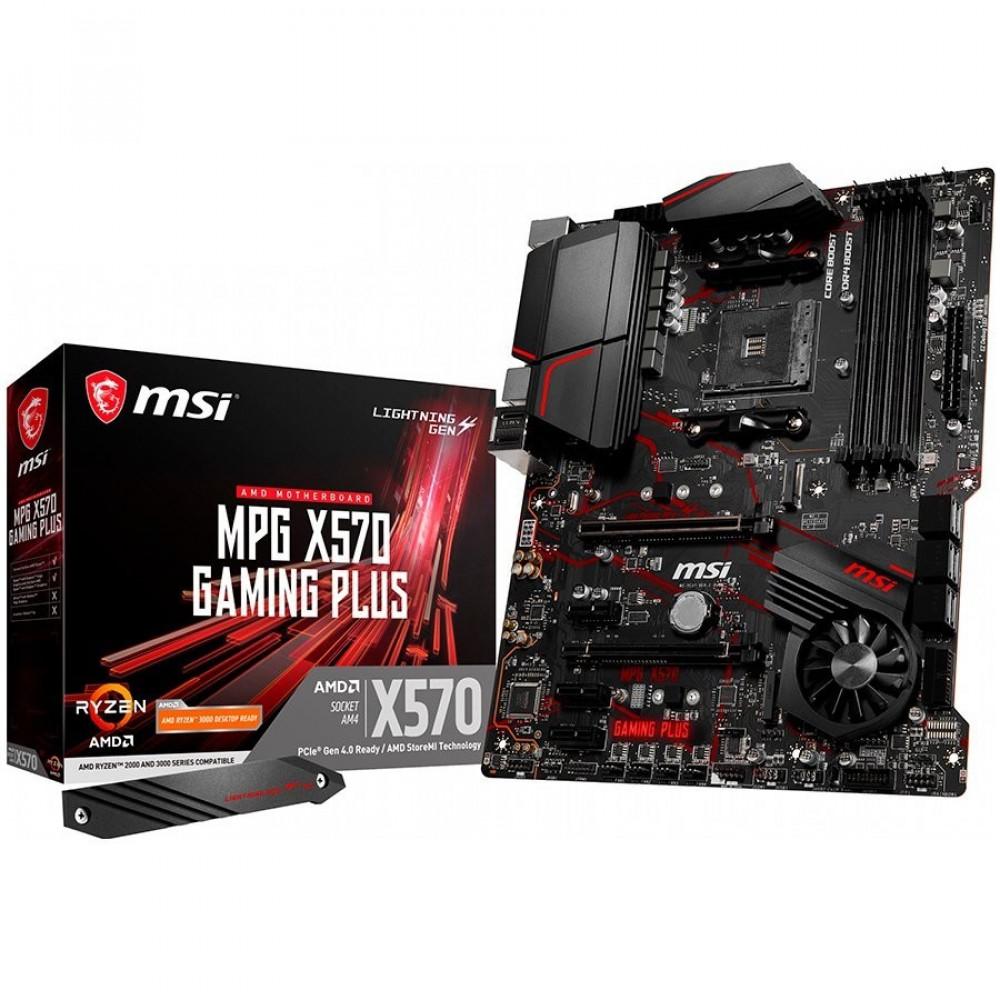 MSI MPG X570 GAMING PLUS,  X570, DDR4 4400(O.C)/1866, HDMI, M.2 Socket, USB 3.2, AM4