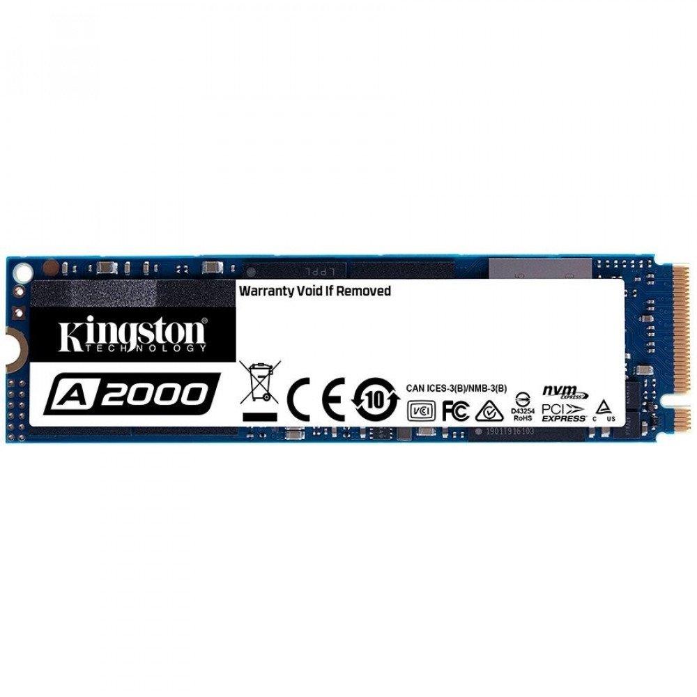 KINGSTON 1TB A2000 SSD PCIe Gen3 x 4 M.2 2280, NVMe, SA2000M8/1000G
