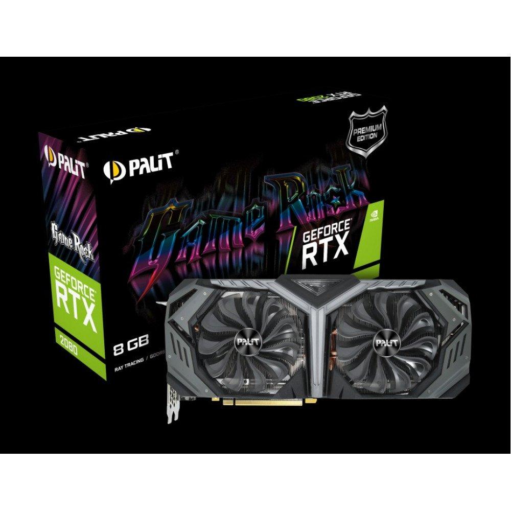 PALIT 8192M RTX 2080 GameRock Premium