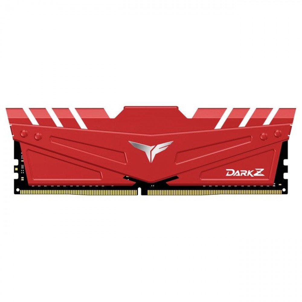 TEAM GROUP 2X8G DDR4 2666 DARK Z RED, CL15-17-17-35