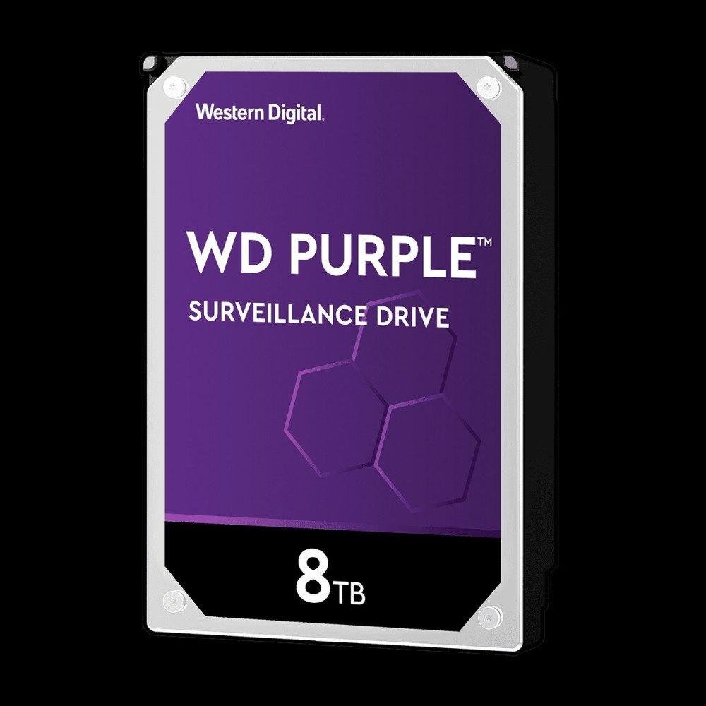 WD 8TB SATAIII WD Purple 256MB for DVR/Surveillance