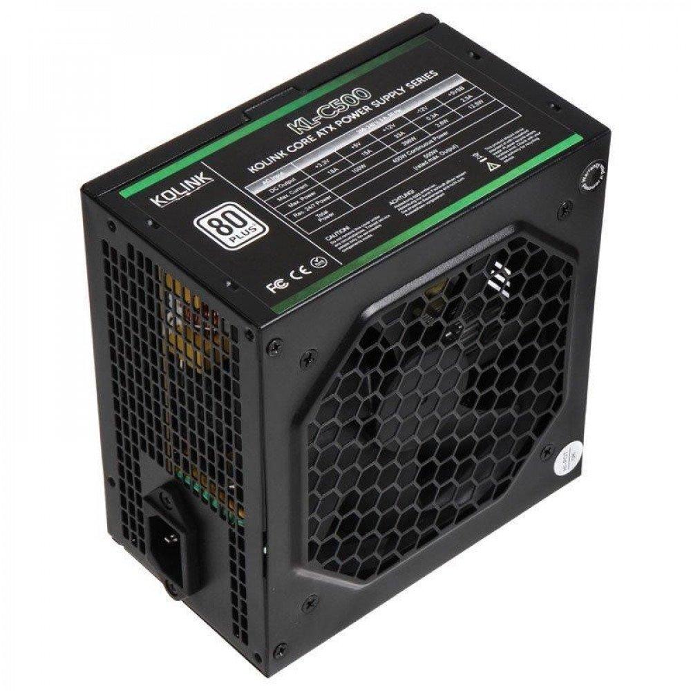 KOLINK Захранващ блок  Core 500W 80 PLUS