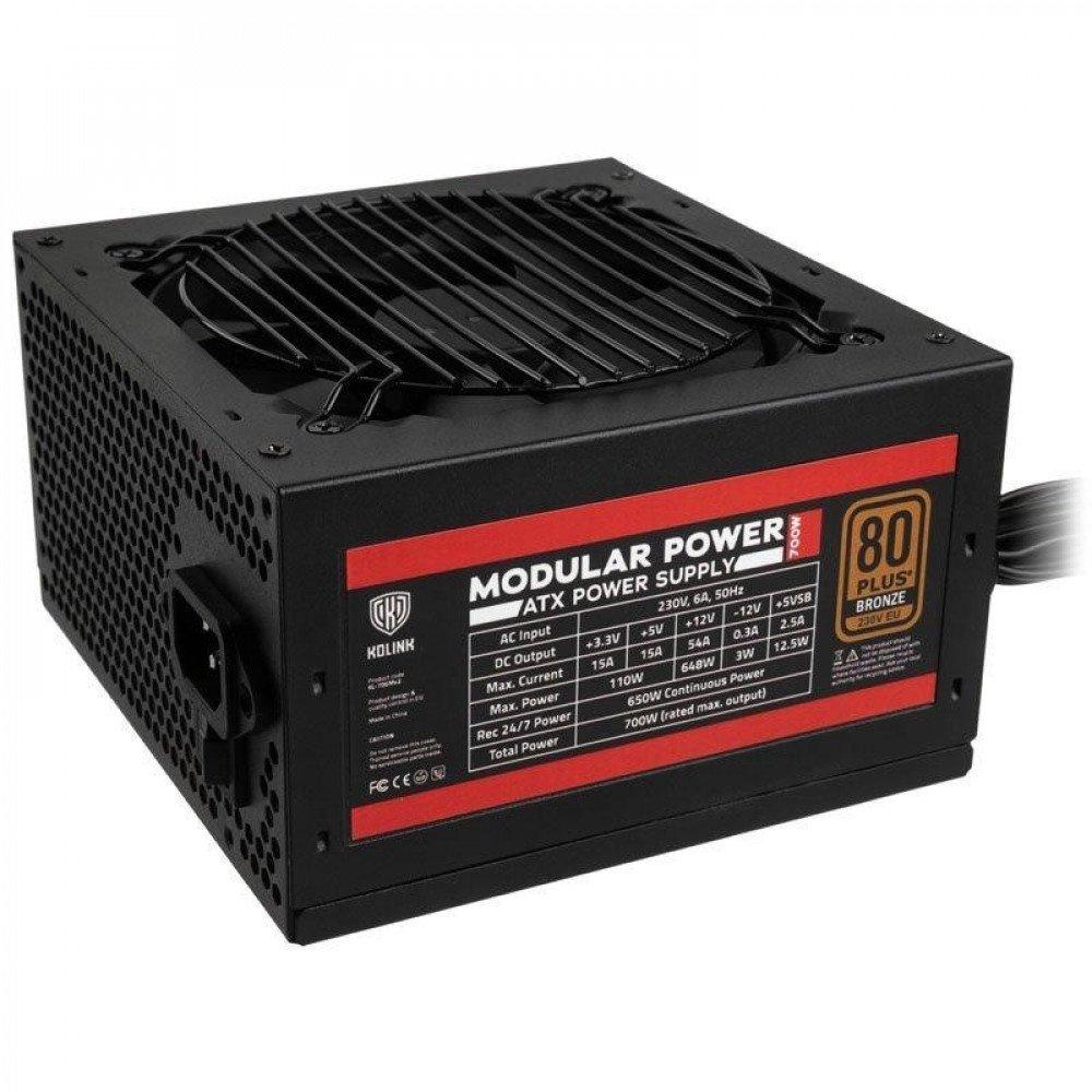 KOLINK Захранващ блок  Modular Power 700W 80 PLUS Bronze