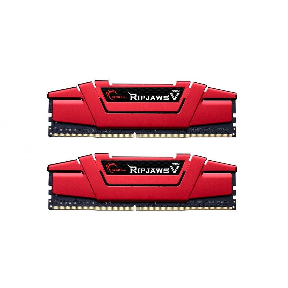 G.SKILL Ripjaws V Red 16GB(2x8GB) DDR4 PC4-25600 3200MHz CL15 F4-3200C15D-16GVR