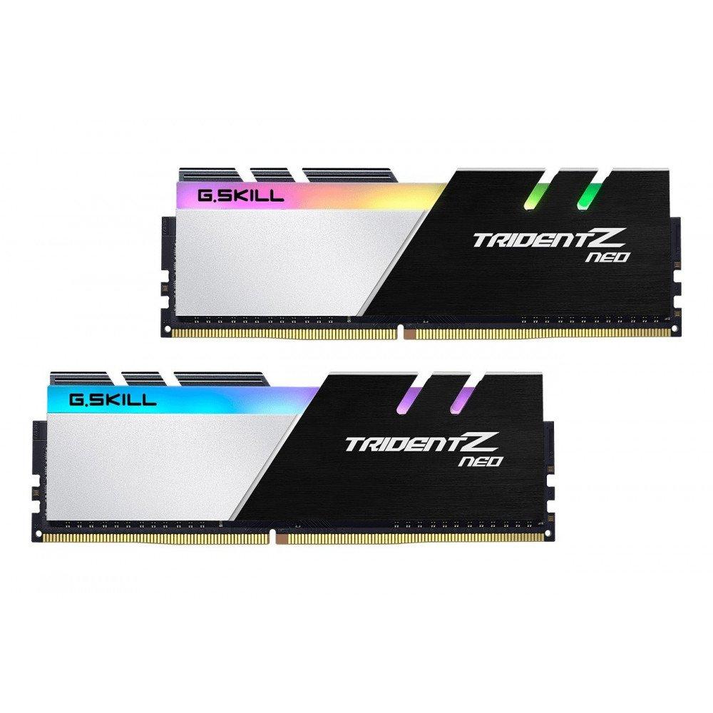 G.SKILL Trident Z Neo RGB 16GB(2x8GB) DDR4 PC4-25600 3200MHz CL14 F4-3200C14D-16GTZN